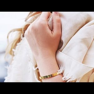 Jewelry - 18k GP Rivet Bangle
